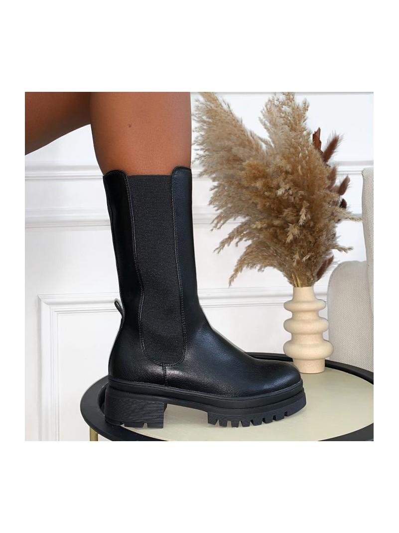 Accueil Chaussures Bottines Tania Noir -- HouseOfPeople.fr