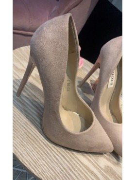 Accueil Chaussures femme escarpins talons hauts nude velours destockage taille 39 -- HouseOfPeople.fr