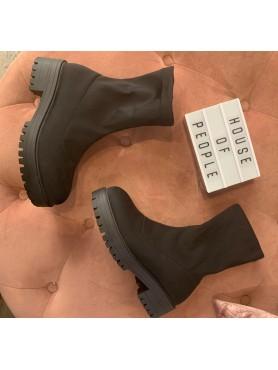 Accueil Chaussures pour femme bottes bottines lycra noir destockage en taille 37 -- HouseOfPeople.fr