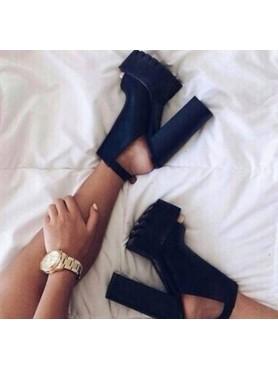Chaussures platform noir...