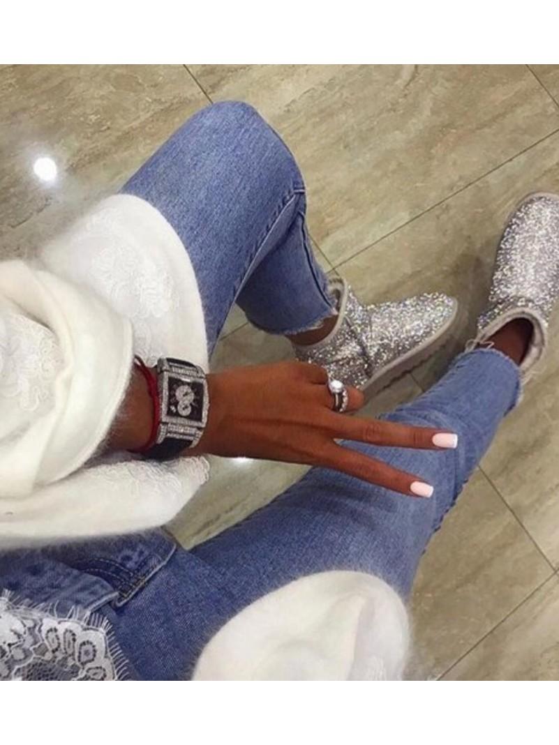 Accueil Chaussures femme bottes bottines strass diamond destockage taille 36 -- HouseOfPeople.fr