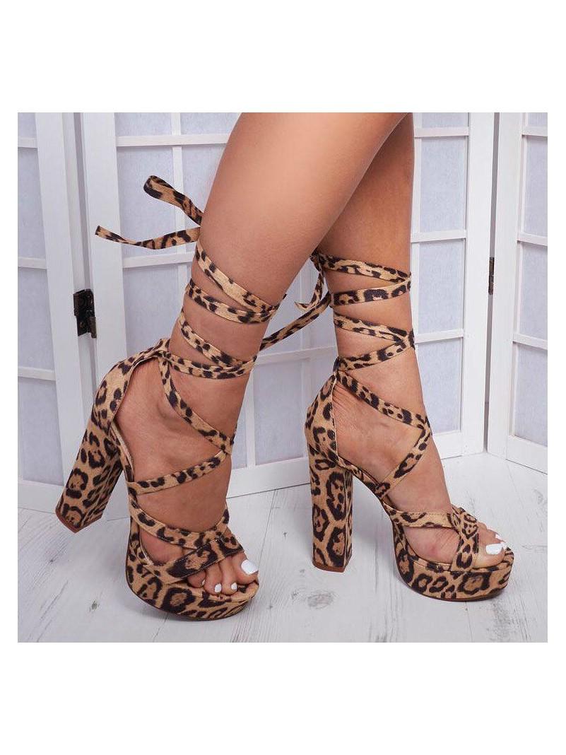 Accueil Chaussures femme talon haut leopard platform destockage taille 37/38 -- HouseOfPeople.fr