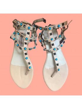 Sandales ALICE beige pierre...