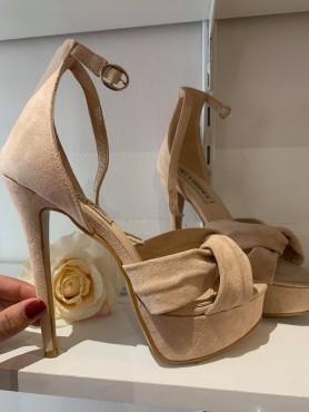 Accueil Chaussures femme talon haut platform beige nude destockage taille 39 et 40 -- HouseOfPeople.fr
