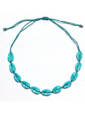 Accueil Collier coquillage BLUE LAGON -- HouseOfPeople.fr