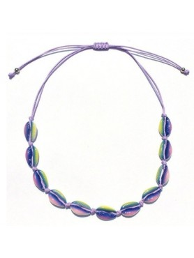 Accueil Collier coquillage PURPLE -- HouseOfPeople.fr