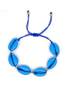 Accueil Bracelet coquillage BLEU -- HouseOfPeople.fr