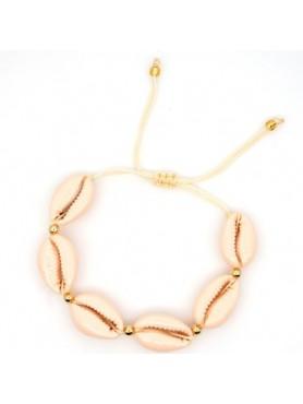 Accueil Bracelet coquillage BEIGE -- HouseOfPeople.fr