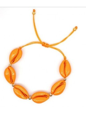 Accueil Bracelet coquillage ORANGE -- HouseOfPeople.fr