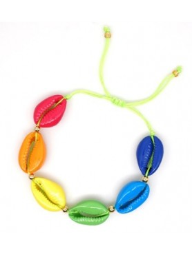Accueil Bracelet coquillage MULTI COLOR -- HouseOfPeople.fr