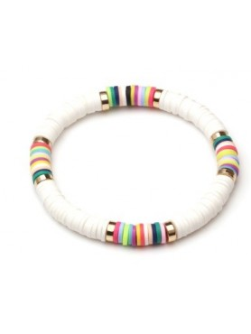 Accueil Bracelet boho BLANC -- HouseOfPeople.fr