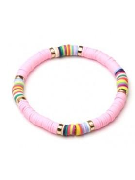 Accueil Bracelet boho ROSE BONBON -- HouseOfPeople.fr