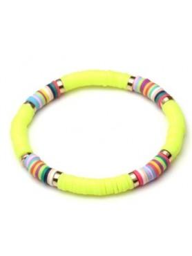 Accueil Bracelet boho JAUNE -- HouseOfPeople.fr