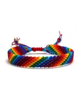 Accueil Bracelet tissé RAINBOW -- HouseOfPeople.fr