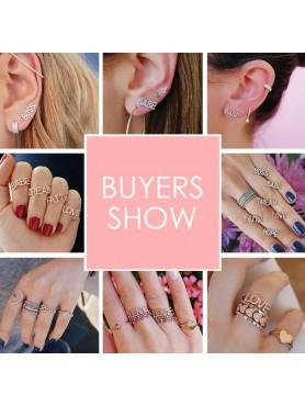 Boucles d'oreilles LOVE en argent