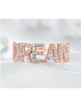 Accueil BAGUE EN OR ROSE DREAM -- HouseOfPeople.fr