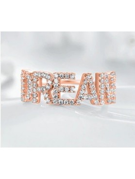 BAGUE EN OR ROSE DREAM