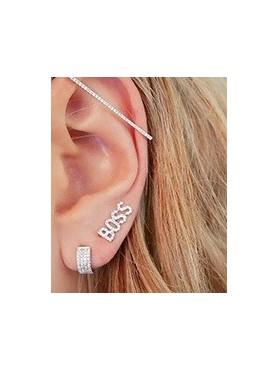 Accueil Boucles d'oreilles BOSS en argent -- HouseOfPeople.fr