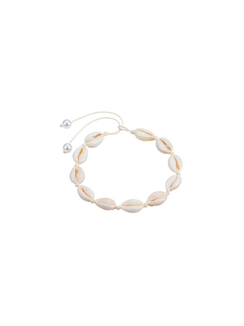 Accueil COLLIER COQUILLAGE BEIGE ET PERLE -- HouseOfPeople.fr