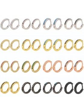 Accueil Boucle d'oreille anneau certie argent -- HouseOfPeople.fr
