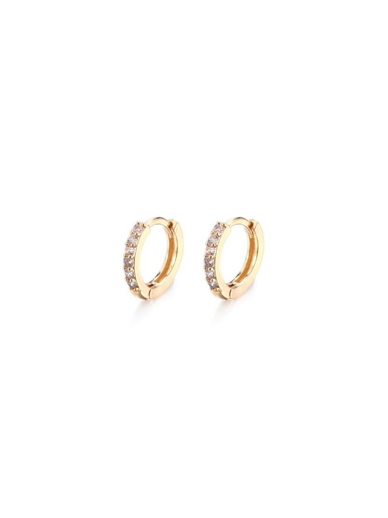 Accueil Boucle d'oreille anneau certie OR -- HouseOfPeople.fr