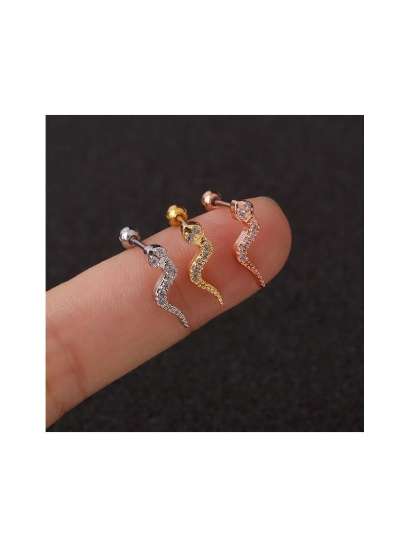Accueil Boucle d'oreille serpent argent -- HouseOfPeople.fr